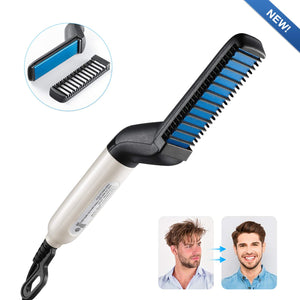 BeardBuddy™ Beard and Hair Straightening Brush