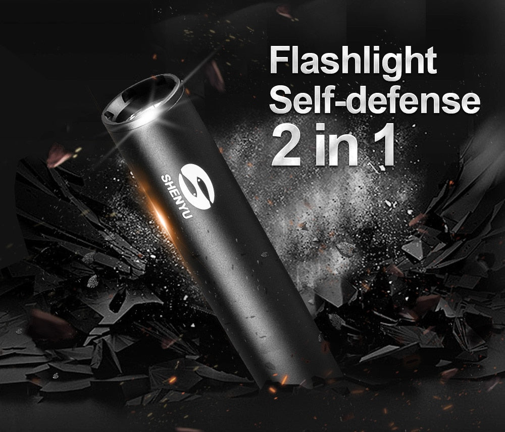 Flashlight Self-defense Bat