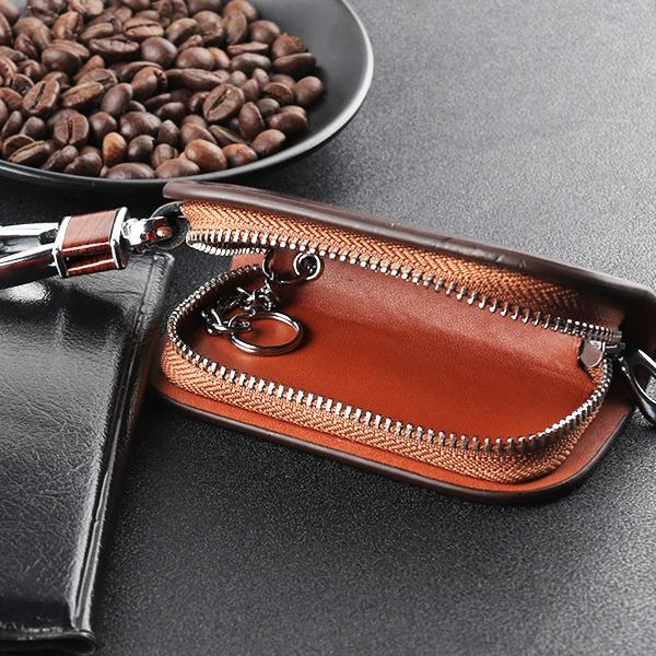 Exquisite Premium Leather Car Key Case