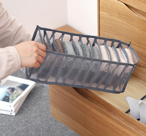 Underwear storage box compartment