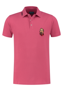 Fuchsia cotton polo District Indigo - 7.11.401.400