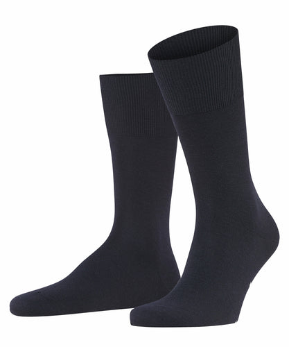 Navy merino-cotton socks Falke Airport - 14435