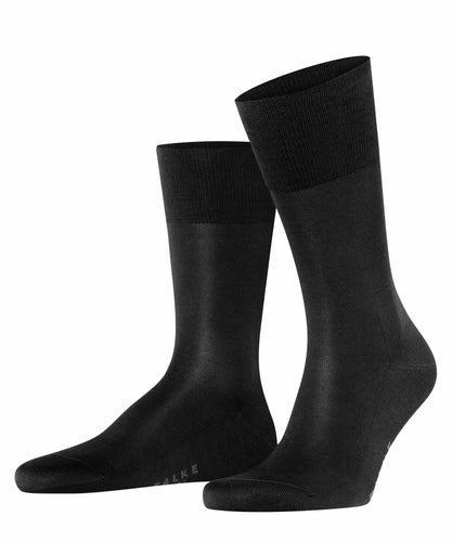 Black fil d'Ecosse cotton socks Falke Tiago - 14662