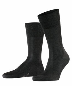 Navy fil d'Ecosse cotton socks Falke Tiago - 14662