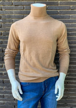 Load image into Gallery viewer, Beige wool-cashmere turtleneck pullover Gant - 8050095