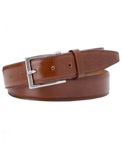 Cognac calf leather belt Profuomo - PP1R00072-3-4-5