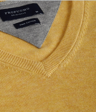 Load image into Gallery viewer, Yellow cotton pullover Profuomo