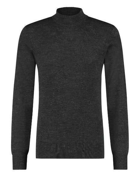Dark grey woolen pullover State of Art - 20113