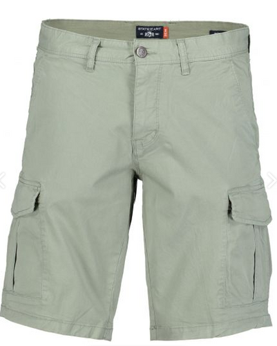 Olive cotton cargo short State of Art - 10681