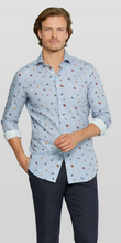 Load image into Gallery viewer, Blue shirt with beach print Van Gils - 1511VG00017