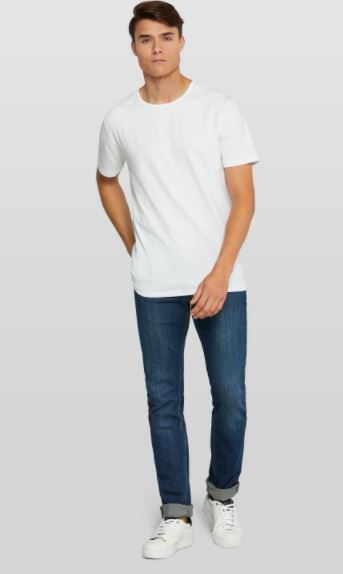 White 2-pack crew neck cotton T-shirt Van Gils - 1711VG00001