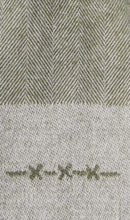Load image into Gallery viewer, Light grey herringbone scarf Van Gils - 1811VG00006