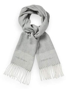 Light grey herringbone scarf Van Gils - 1811VG00006