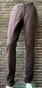Dark brown cotton trousers Sidney Zilton - 14