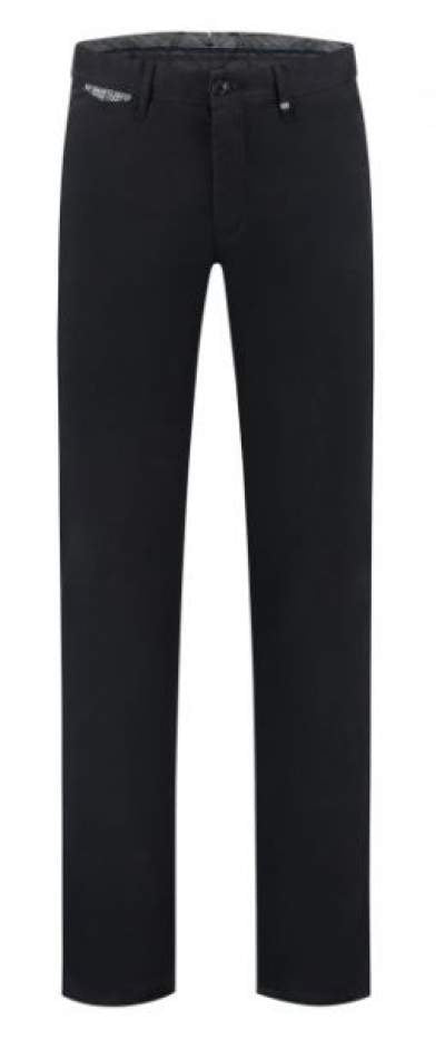 Navy cotton trousers Sidney Zilton - 14