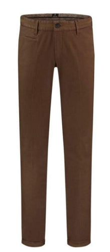 Rust cotton trousers Steam Zilton - 17