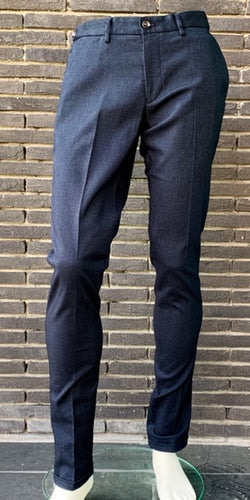 Navy structured cotton trousers  Seger Zilton - 24