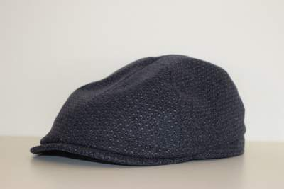 Grey Cap with small print Zilton