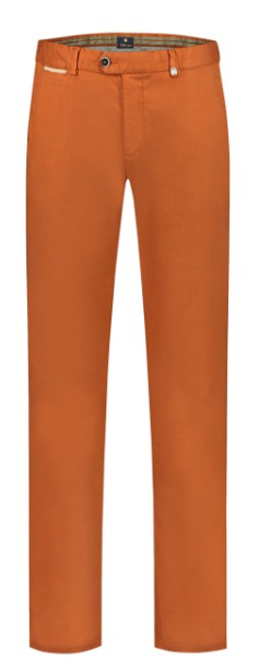 Papaya cotton regular fit trousers Magnus Zilton - 14