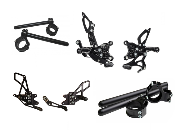 Rearsets and Clip Ons