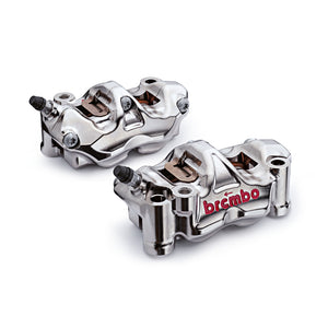 Brembo GP4-RX CNC P4 130mm Radial Billet Caliper Kit to suit Yamaha R1 2007-2014 (220B01130)