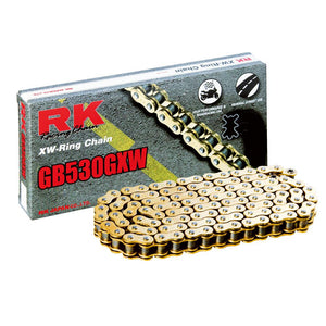 RK GB530GXW 120L Gold Chain
