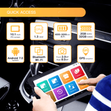 FULL SYSTEM OBD2 BLUETOOTH SCAN TOOL WITH TABLET (NEXZDASFULLTAB)
