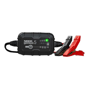 NOCO Genius 5 Battery Charger for Lead Acid 6 & 12V and 12.8V Lithium Batteries