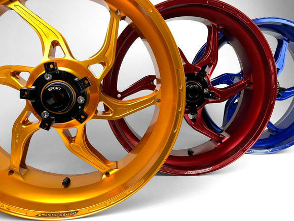 Core Moto APEX-6 Ultralight Forged Wheels (Pair) Suzuki