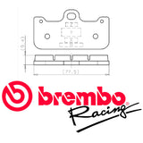 Brembo Z04 Compound Brake Pads