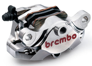Brembo Rear Caliper Supersport CNC P2 34 Nickel 84mm Mount (120A44140)