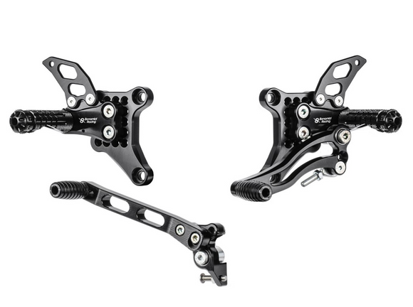 Bonamici Racing Rearsets - Ducati 848 / 1098 / 1198 (Free Delivery) D1098