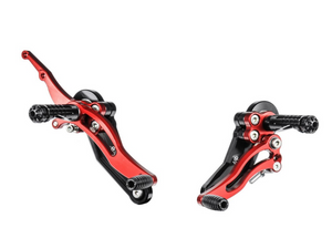 Bonamici Racing Rearsets - Ducati Hypermotard / Multistrada - Race (Free Delivery) DH02