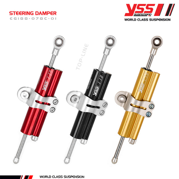 YSS Suspension Steering Damper (Honda) (Free Delivery)