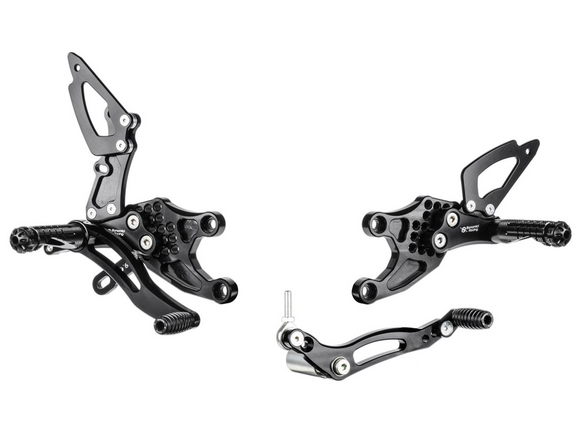 Bonamici Racing Rearsets - Honda CBR1000RR (2008-2016) Reverse Shift (Free Delivery) H009