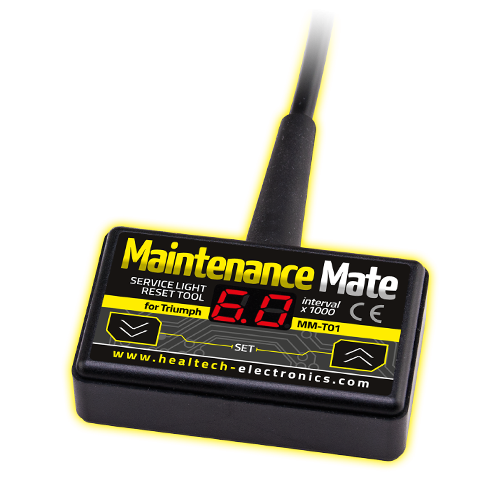 Healtech Maintenance Mate Service light reset tool for Triumph motorcycles (MM-T01)