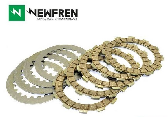 Newfren Clutch Kit Fibres & Steels