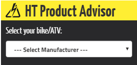 Healtech Product Advisor - Use to match Healtech products to your motorcycle