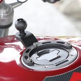 "RAM Small Tank Base With 1"" Ball for Motorcycles (RAM-B-410U)"