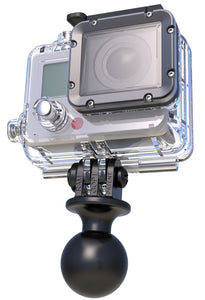 "RAM 1"" Diameter Ball with Custom GoPro Adaptor (RAP-B-202U-GOP1)"