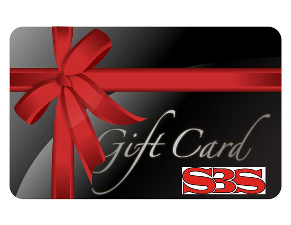 SBS Gift Card - Select Value
