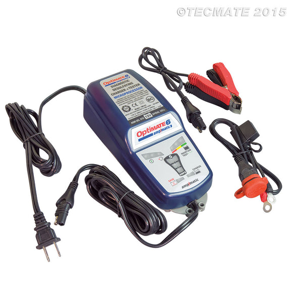 Tecmate Optimate 6 Battery Charger TM188