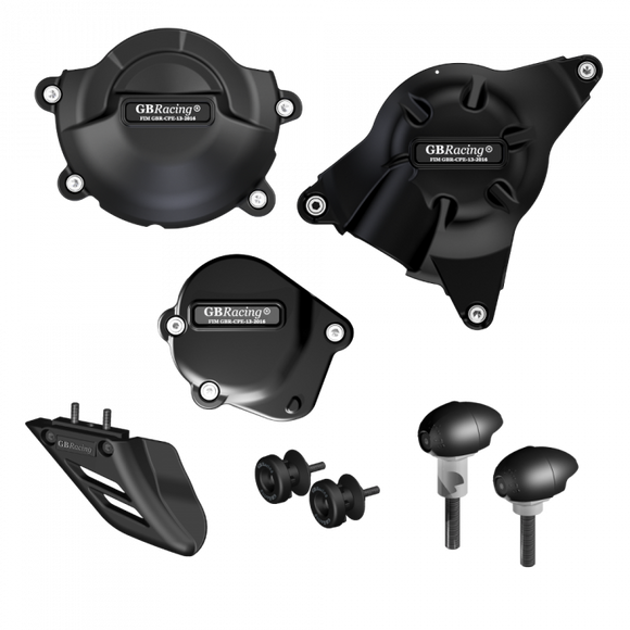GBRacing Crash Protection Bundle (Race) for Yamaha YZF-R6 2006+ (CP-R6-2008-CS-R-GBR) (Free Delivery)