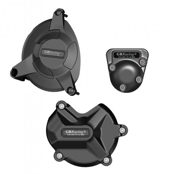 GBRacing Engine Case Cover Set for BMW S1000RR S1000R HP4 2009-2016 (EC-S1000RR-2009-SET-GBR) (Free Delivery)