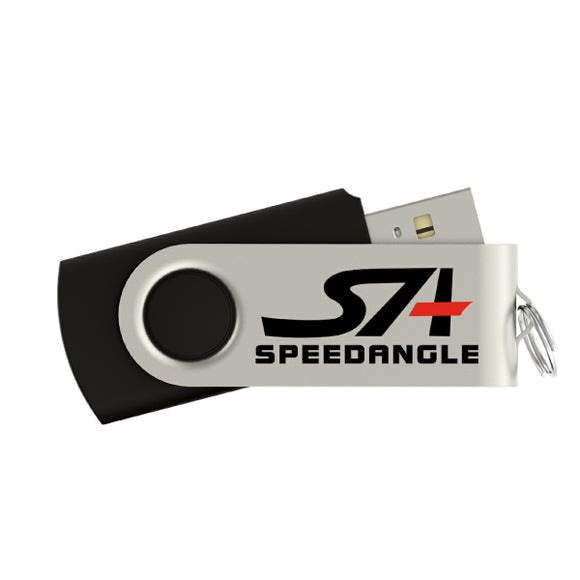 SpeedAngle 8GB USB Flash Drive [Software Included]
