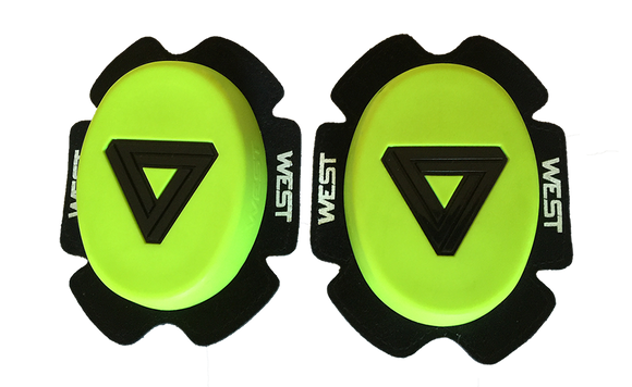 West Knee Sliders - Fluro