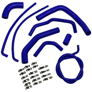 Eazi-Grip Silicon Hose and Clamp Kit - Kawasaki Z1000 (2010-2014) (HOSEKITKAW004)