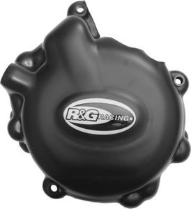 R&G Engine Case Cover Kit (2pc) For Suzuki GSXR600 / GSXR750 (2006-2018) (KEC0002BK)