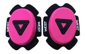 West Knee Sliders - Hot Pink