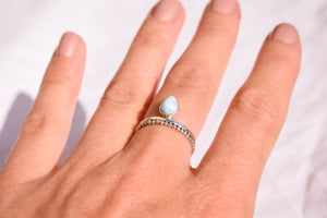 Larimar Gemstone Ring Syel